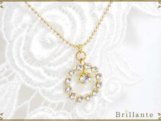 Julietta necklace(crystal)の画像