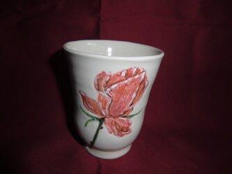 ばらのフリーカップの画像