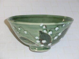 すずらんの飯茶碗の画像