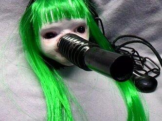 緑毛の子ペンダント 兼キーホルダーの画像