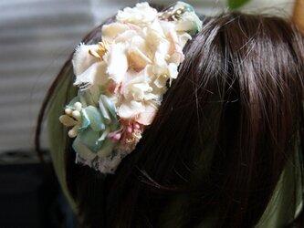 小花ガーデンのカチューシャの画像