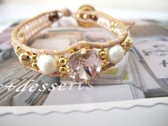 *bijou×cotton pearl*ブレスの画像
