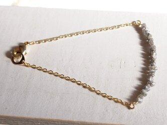 グレーダイヤモンドのブレスレットの画像