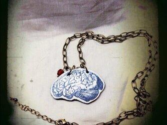 脳みそペンダントの画像