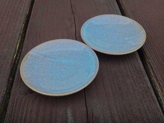 小皿 blue Ф110の画像