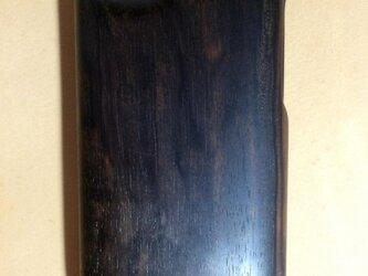 木製iPhoneケース(黒檀・フルカバー)の画像