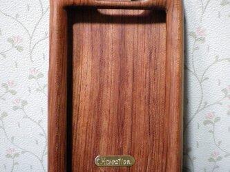 木製iPhoneケース(ブビンガ・フルカバー)の画像