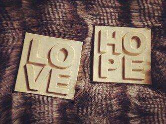 メッセージタイル(LOVE)の画像