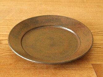 黒錆 リム皿の画像