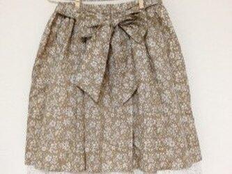 リバティのギャザースカートの画像