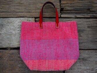 裂き織りバッグ No2の画像