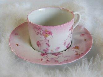 受注製作!ティーカップ(花の物語ピンク)の画像