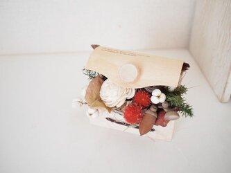 白樺ボックスminiアレンジの画像