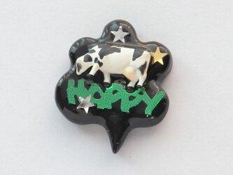 Happy people ピンブローチ #06の画像