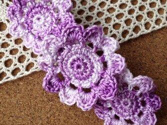 お花のモチーフ・バレッタ~その2【オーダー品】の画像