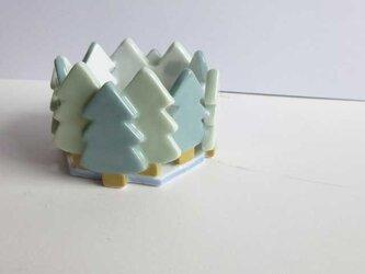 森のキャンドルホルダーの画像