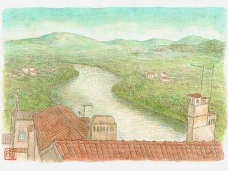 ポルトガル~川の流れる風景の画像