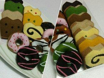 ドーナツ&パウンドケーキの画像