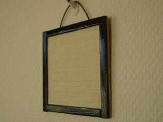襖紙の吊し飾り 黒ブチ高級紙の画像