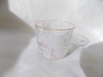 キラキラミニグラス薔薇ドット仕上げの画像