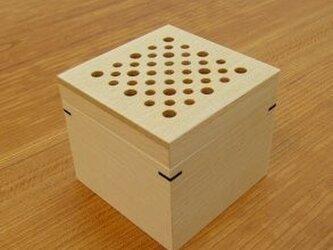 芳香剤を入れる箱(ナチュラル)の画像