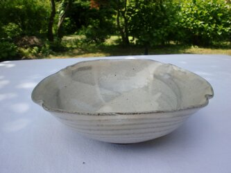 粉引 四方鉢の画像