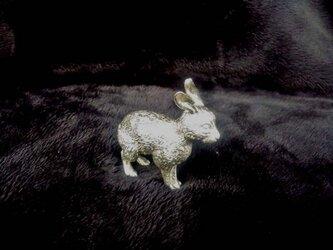 錫のうさぎの画像