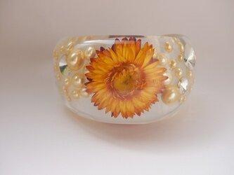 Flower bangle [L]orangeの画像