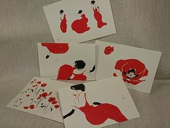 shume ポストカード「C」セット(5枚組)の画像