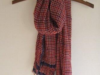 手織りストール12の画像
