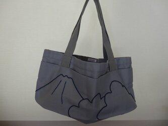 La montagne  バッグ ブルーの画像