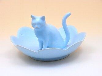 Cat Loverのためのジュエリーディッシュ・アイスブルー21の画像