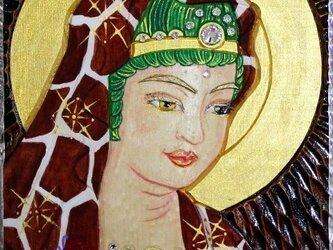 開運 癒彩 観世音    色の八十七    麒麟衣観音の画像