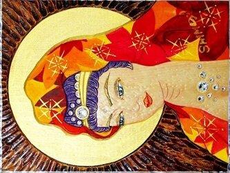 開運 癒彩 観世音    色の九十四     紅葉衣観音の画像