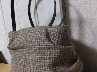 ウールのころりんバッグの画像