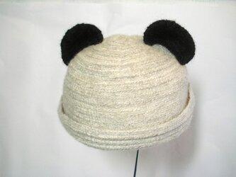 パンダさんロール帽子の画像