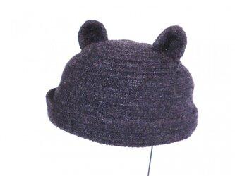 ネコ耳ロール帽子の画像