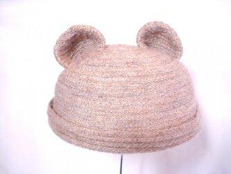 クマさんロール帽子の画像