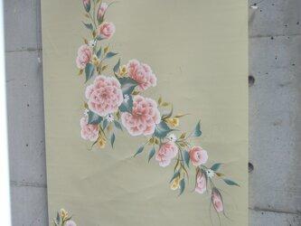 花のロールスクリーンの画像
