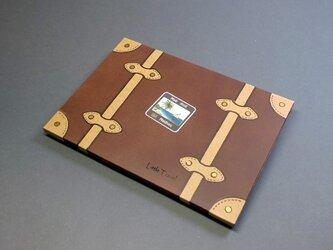 ジオラマポップアップカード「小さな旅」モルディブの画像