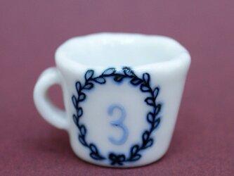 ナンバーミニカップ 3の画像