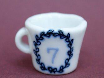 ナンバーミニカップ 7の画像