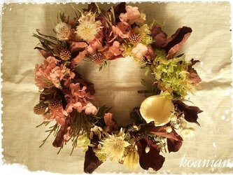 antique wreathの画像