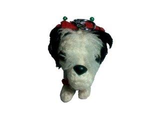 あなたの愛犬をキーホルダー◆手作りオリジナル編みぐるみM001の画像