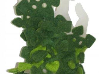 葉っぱブロックブレスレット4の画像
