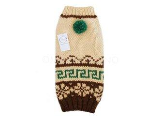 【犬のセーター】ノルディック柄セーター〔#13-401〕の画像