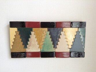 モロッコタイルモザイク 壁掛け その2の画像