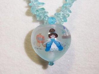 シンデレラのハートネックレスの画像