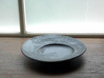 変形皿・黒の画像