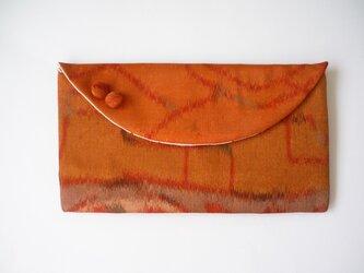 アンティーク着物のクラッチバッグの画像